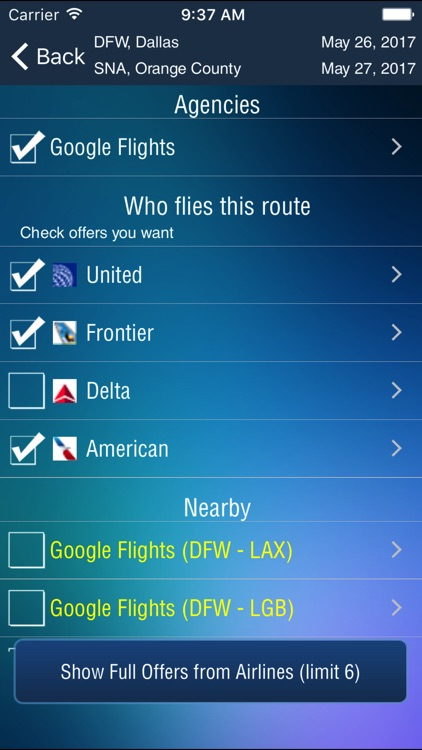 John Wayne Airport Pro (SNA) + Flight Tracker HD screenshot-3