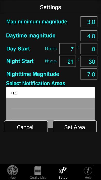 iQuakeMini screenshot1