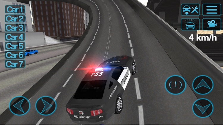 Police Car Driving Simulator screenshot-0
