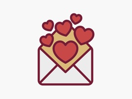 Valentine's Day & Love Stickers will help you to share love and sweetness in your iMessage conversation