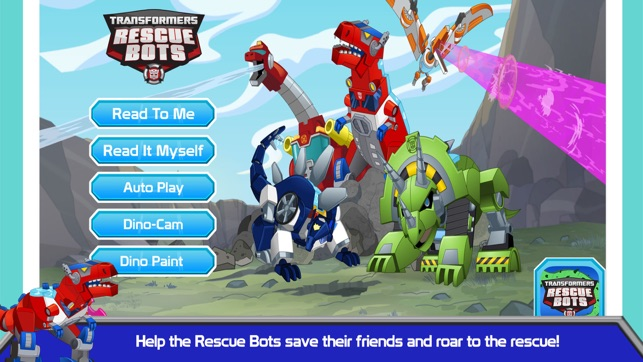 Transformers Rescue Bots Dino Island On The App Store