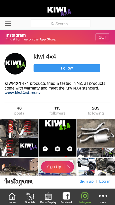 Kiwi 4x4 Screenshot on iOS