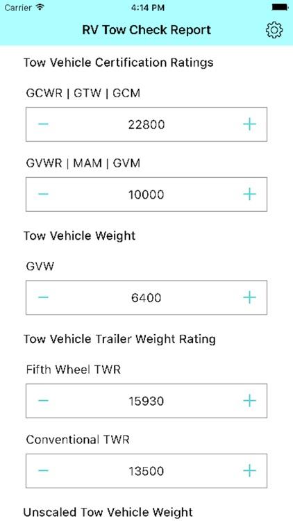 RV Tow Check screenshot-3