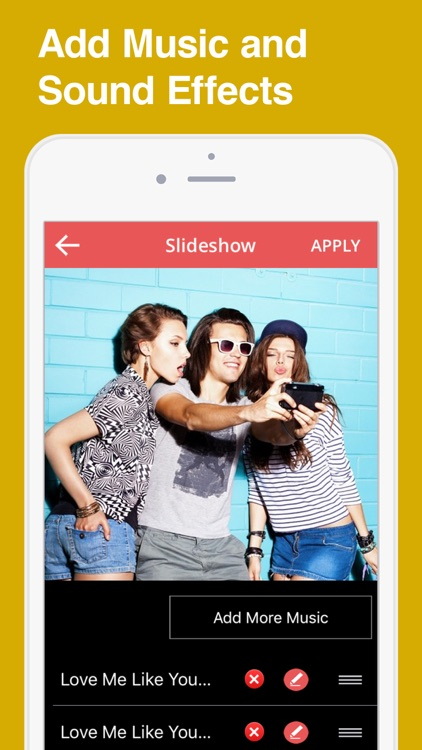 SlideShow Movie MakeR- Music With VideoS PicTure app image