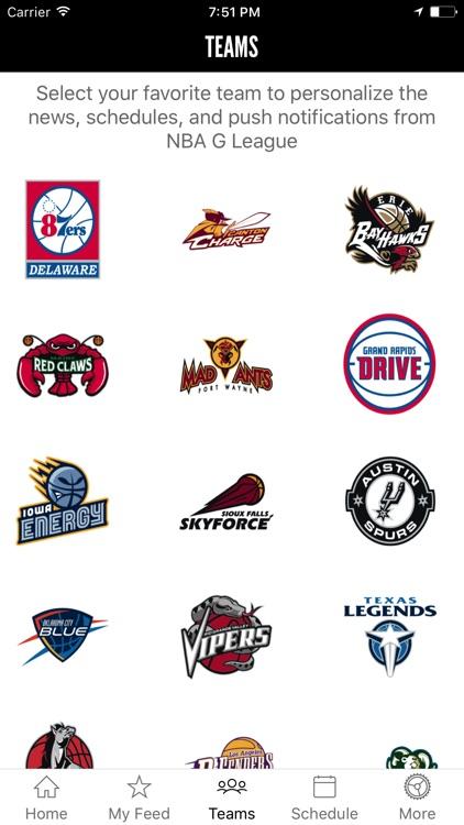 NBA D-League screenshot-3