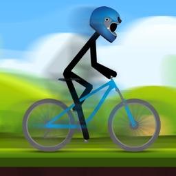 Stickman Bicycle Racing 2D