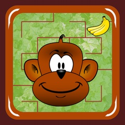 Monkey Jungle Maze (catch the banana)