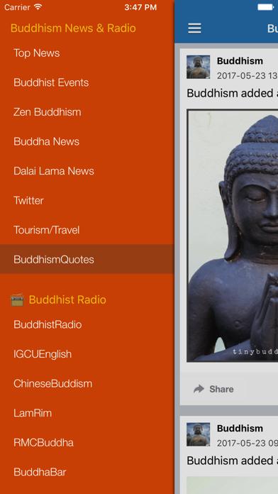 Buddhism News & Buddha Radio - Buddhist Updates screenshot two