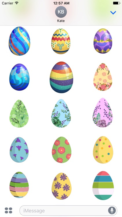 EasterMojis - Cute Easter Egg Stickers