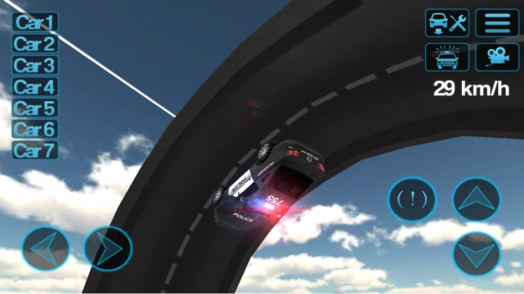 Police Car Driving Simulator screenshot-1