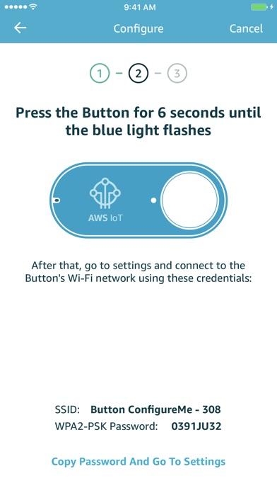 AWS IoT Button Wi-Fi - 窓用