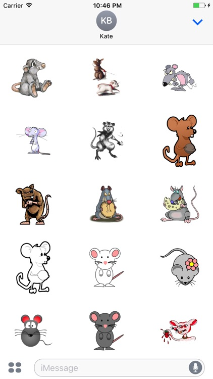 Rat Sticker - Collection Of Stickers