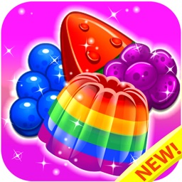 Jelly Crush Mania - King of Sweets Match 3 Games