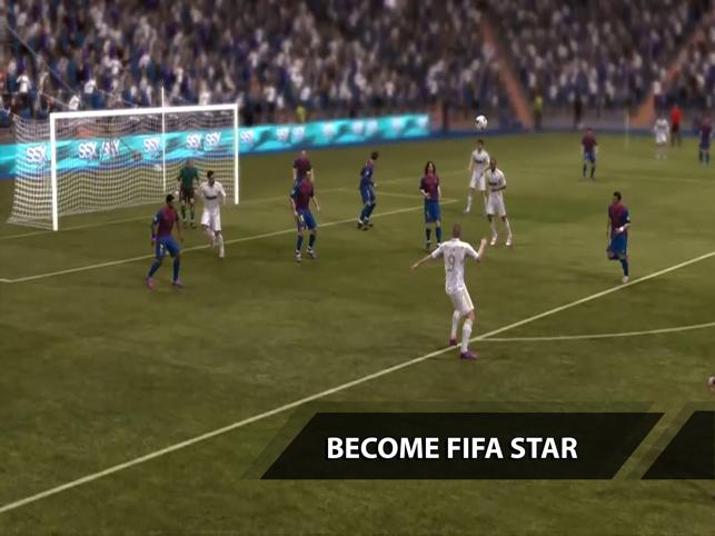 Echtes Fußballspiel für die UEFA-Champions League Screenshot
