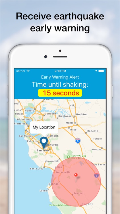 eQuake - Earthquake Alerts & Sensor Network