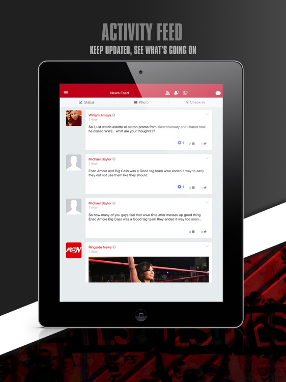 RingSide Talk for iPad by Stephen Carrier