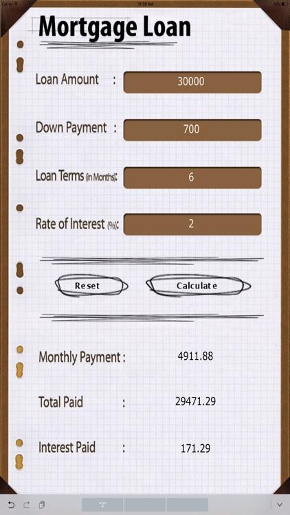 Home Loan Calc HD screenshot-4