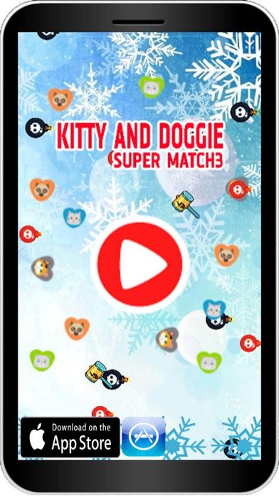 Kitty Doggy Puzzle Match Screenshot
