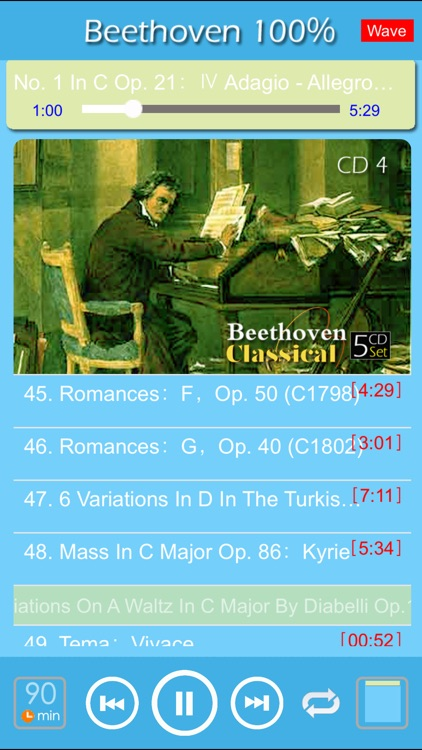 [5 CD] Beethoven Classic 100% screenshot-2