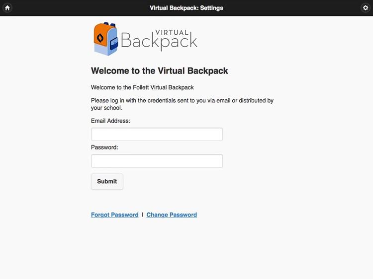 Follett Virtual Backpack
