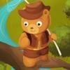 小熊熊找蜂蜜 - 出没森林单机游戏