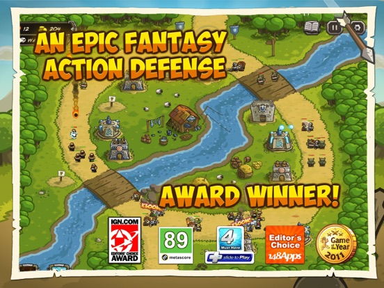 Kingdom Rush HD Screenshots