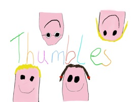 Thumbles Stickers