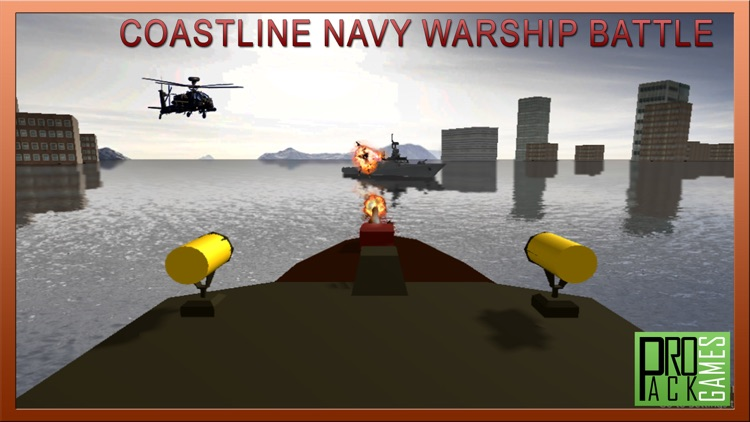 Coastline Navy Warship Fleet - Battle Simulator 3D screenshot-4