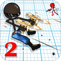 Gun Shooter Stickman 2: Shot To Kill Hitman games