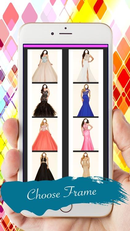 Prom Dress Photo Montage: Long Dress Fashion screenshot-3
