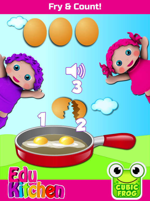 Preschool EduKitchen - Free Early Learning Educational Kitchen Cooking Games For Toddlers! screenshot