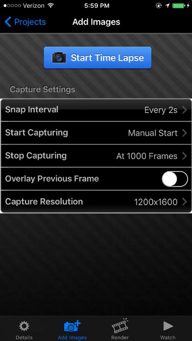 iTimeLapse Pro - Time Lapse videos screenshot two