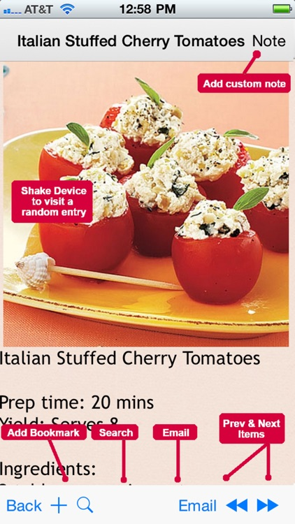 Finger Food Recipes Plus+ screenshot-3