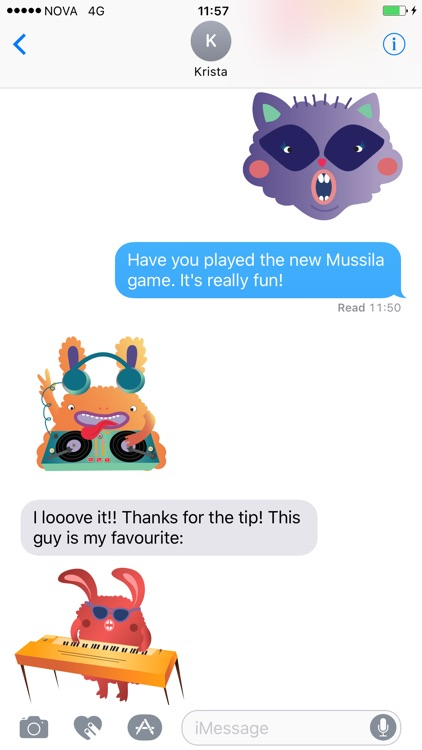 Mussila Sticker Pack