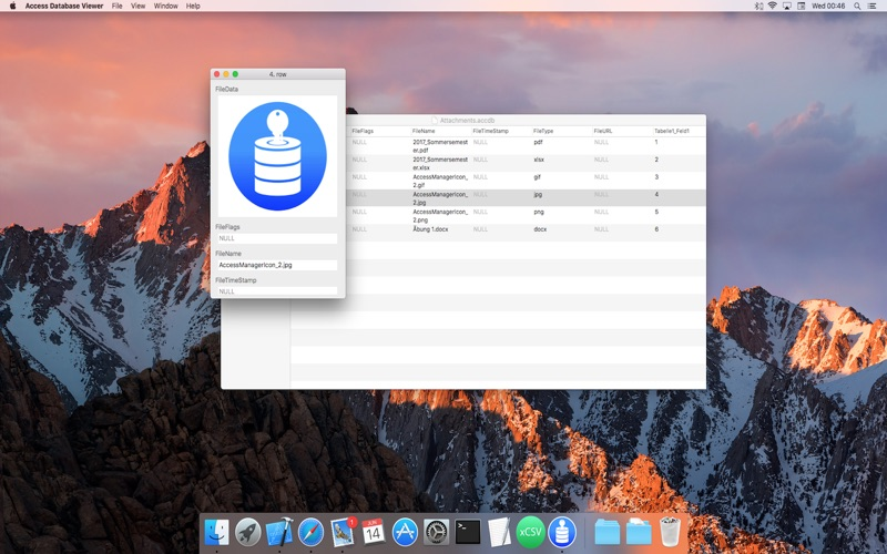 Access Database Viewer review screenshots