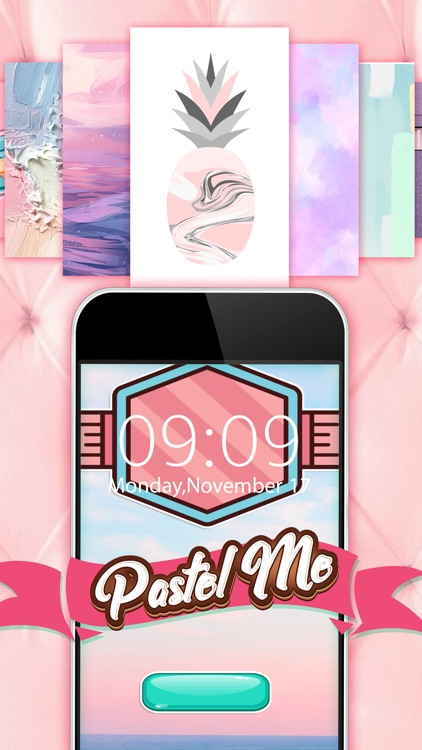 Lock Screen Wallpaper Design in Pastel Pro