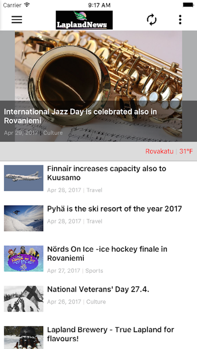 Lapland News screenshot three