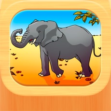 Activities of Wild Animal Puzzle for Kids