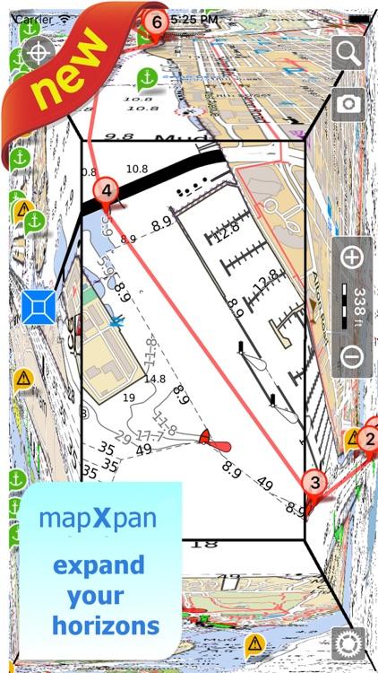Aqua Map Brazil HD Pro GPS Offline Nautical Charts screenshot-0