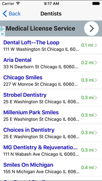 Doctor Finder: Find Doctors & Dentists Nearby screenshot-3