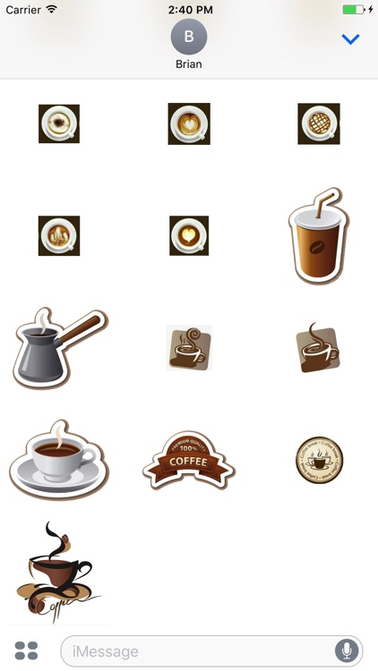 Coffee w Me Stickers