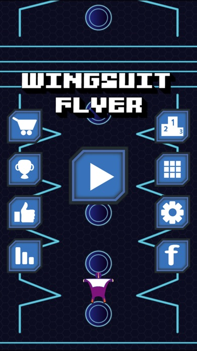 Image of Wingsuit Flyer for iPhone