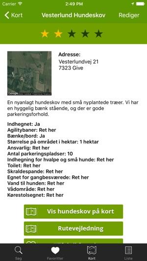 Aplikacja Hundeskove I Danmark Hundeskovene Dk W App Store