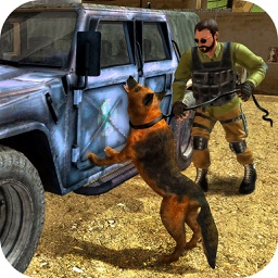 Airport Police Dog Chase Simulator-Crime City Wars