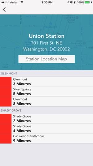 Capital DC Metro Next Train on the App Store