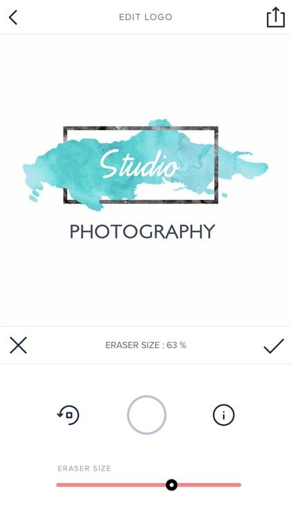 Watercolor Logo Maker - Small Business Logo Design
