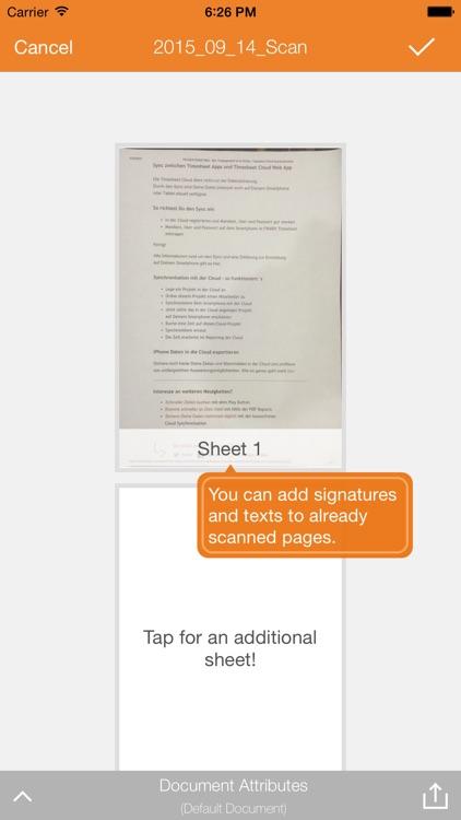 Qlaqs PDF Document Scanner screenshot-3