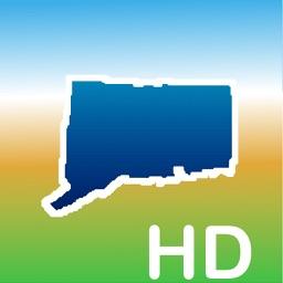 Aqua Map Connecticut CT Lakes HD - Nautical Charts