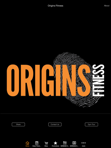The Origins Fitness Group - náhled
