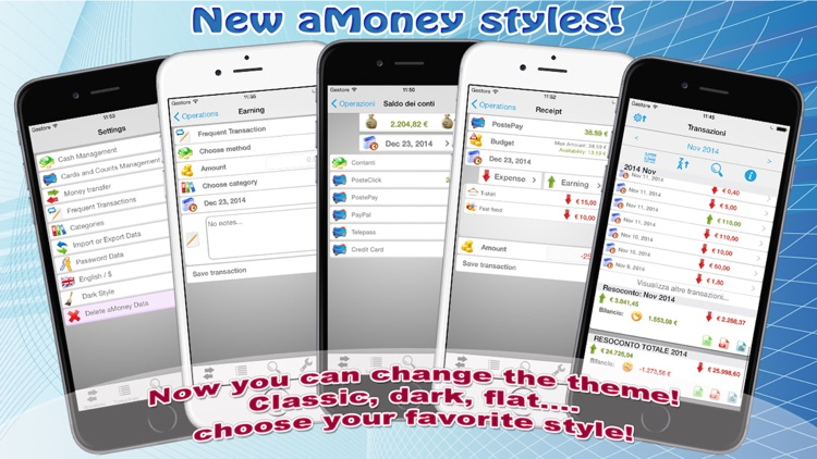 aMoney Lite - Money management screenshot-4